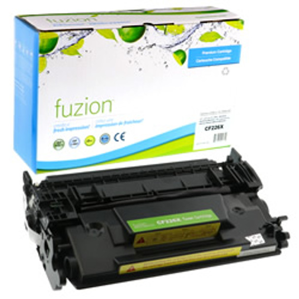COMPATIBLE HIGH YIELD BLACK LASER TONER CARTRIDGE FITS HP 26X (HCF226X)