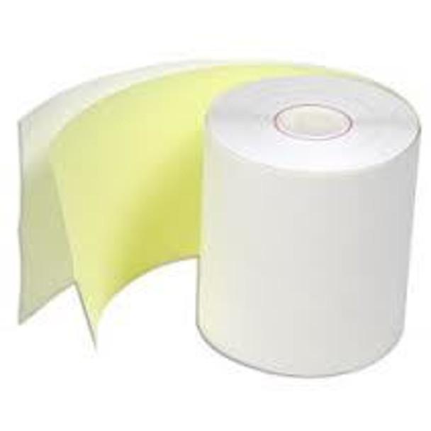 2- 3/4 (70mm) 2ply Grade A Paper rolls. 50 Per Case