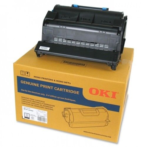 Okidata MB770 Original Toner Cartridge - LED - Extra High Yield - 36000 Pages (45460510)