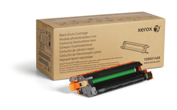 Genuine Xerox Black Drum Cartridge For VersaLink C600/C605 (108R01488)