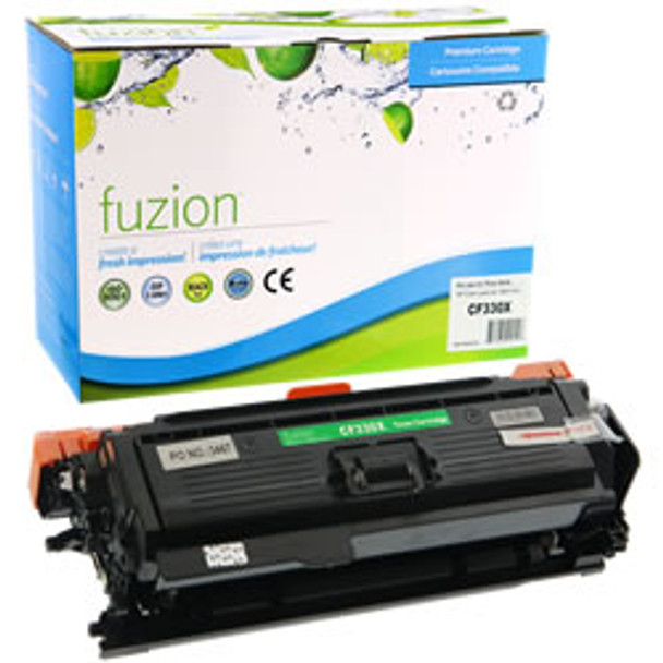 HP 654X (CF330X) Black High Yield Compatible LaserJet Toner Cartridge (HCF330X)