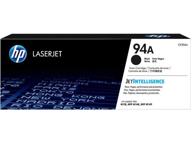 HP 94A Black Original LaserJet Toner Cartridge (CF294A) (CF294A)