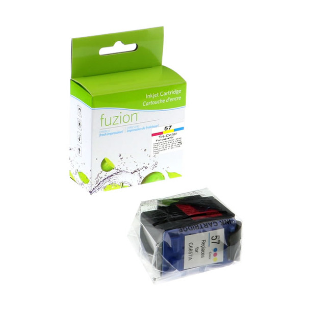 HP57 TRICOLOR Ink Jet Compatible Cartridge, #57 (C6657AN#140 )