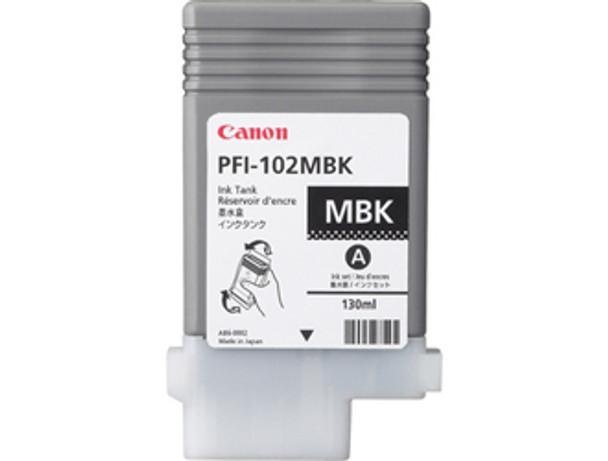 Canon PFI102MBK Matte Black Compatible Pigment Ink Tank