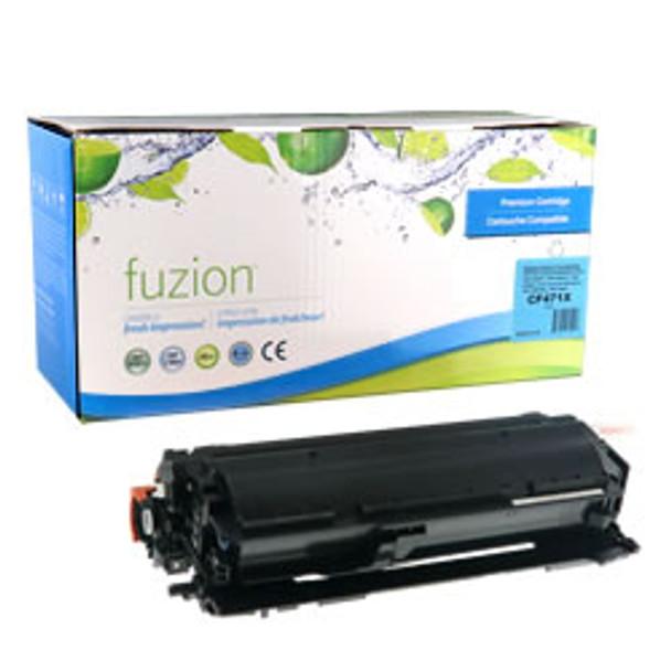 HP 657X (CF471X) Cyan High Yield Compatible LaserJet Toner Cartridge (HCF471X)