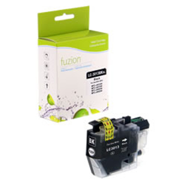 Brother LC3013BKS Black Compatible Ink Cartridge, High Yield