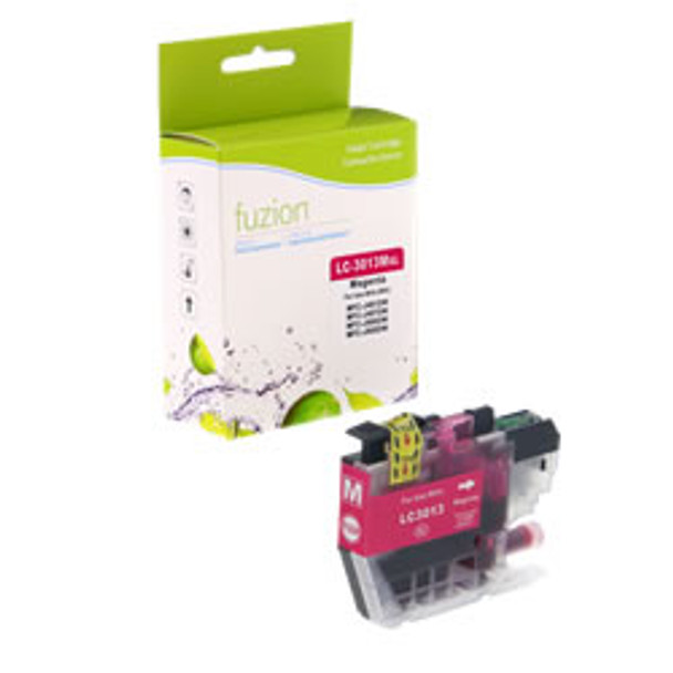 Brother LC3013M Magenta Compatible Ink Cartridge, High Yield