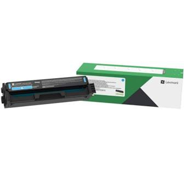 Lexmark C3210C0 Cyan Return Program Print Cartridge (C3210C0)