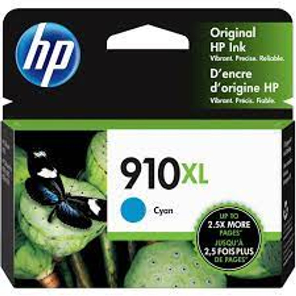 HP 910XL Cyan Original Ink Cartridge (3YL62AN) (3YL62AN)