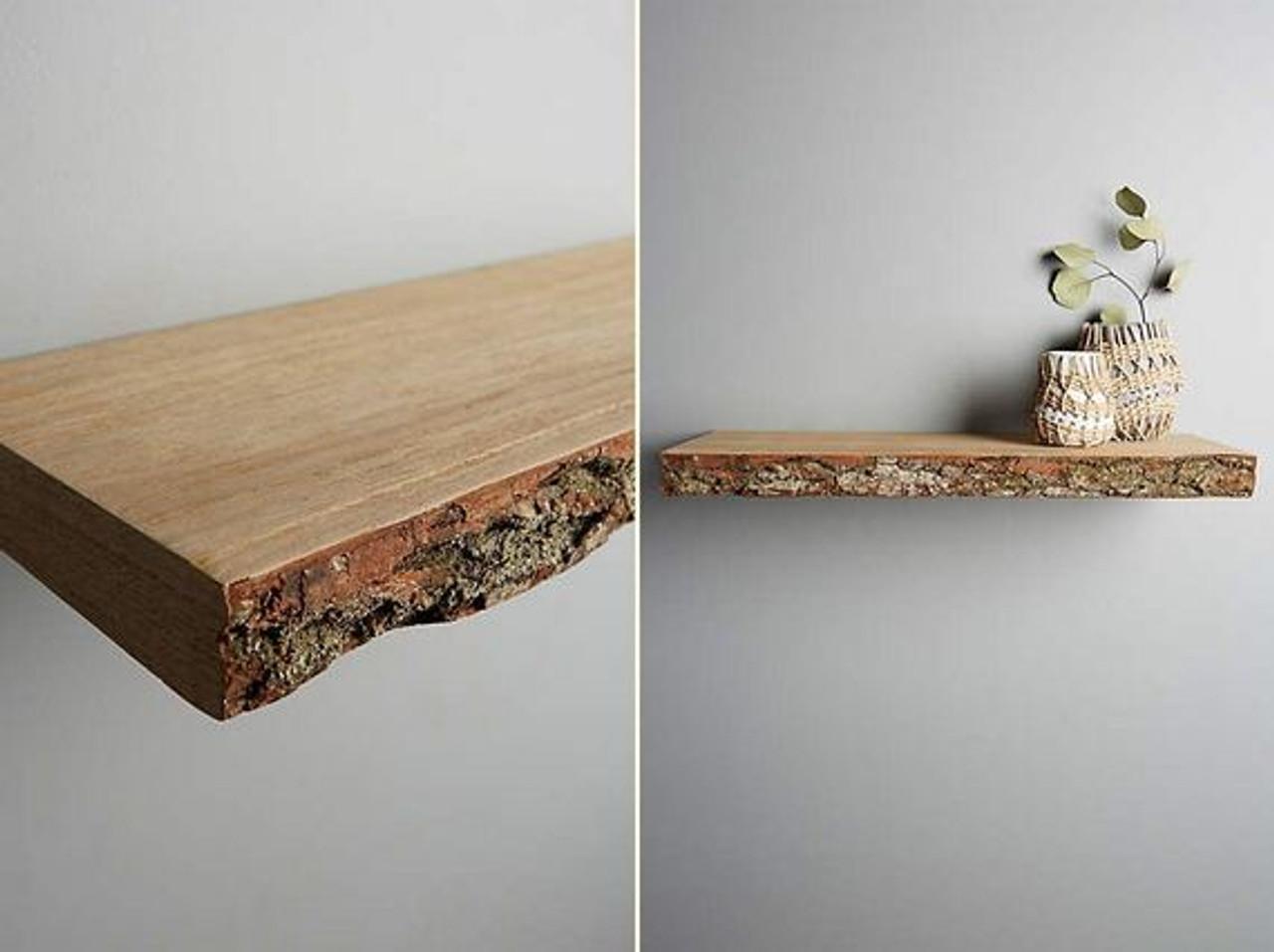 huge selection of bf3f9 01d38 Rustic Solid Oak Floating shelf