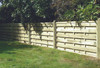 Square Horizontal Fence Panel (1800 x 900mm) - Pressure Treated Green Timber