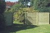 Square Horizontal Fence Panel (1800 x 1800mm) - Pressure Treated Green Timber