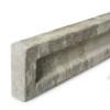 Concrete Gravel Board (1830 x 150 x 50mm) - Recessed
