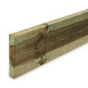 Timber Gravel Board (1830 x 150 x 22mm) - Pressure Treated Green Softwood