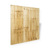 6ft Closeboard Fence Panel (1830 x 1800mm) - Pressure Treated Green Timber