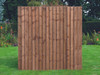 Closeboard Fence Panel 1.83m(W) x 1.8m(H) Dip Treated (Brown)