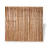 6ft Closeboard Fence Panel (1830 x 1800mm) - Dip Treated Brown Timber