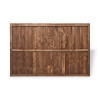 6ft Closeboard Fence Panel (1830 x 1200mm) - Dip Treated Brown Timber