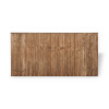 6ft Closeboard Fence Panel (1830 x 900mm) - Dip Treated Brown Timber