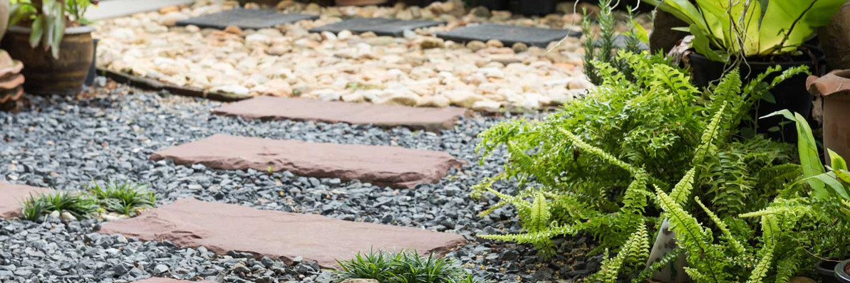 Using Gravel, Slate and Decorative Aggregates in the Garden