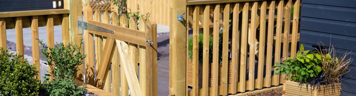 How to Hang a Garden Gate