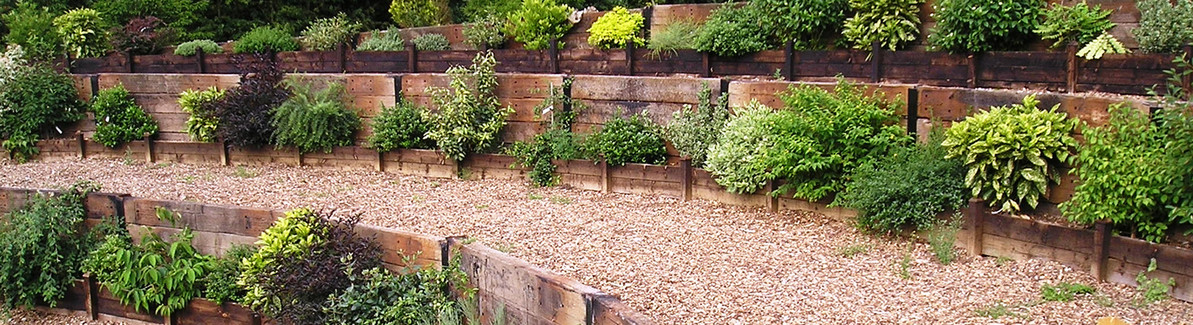 How to Build a Railway Sleeper Retaining Wall