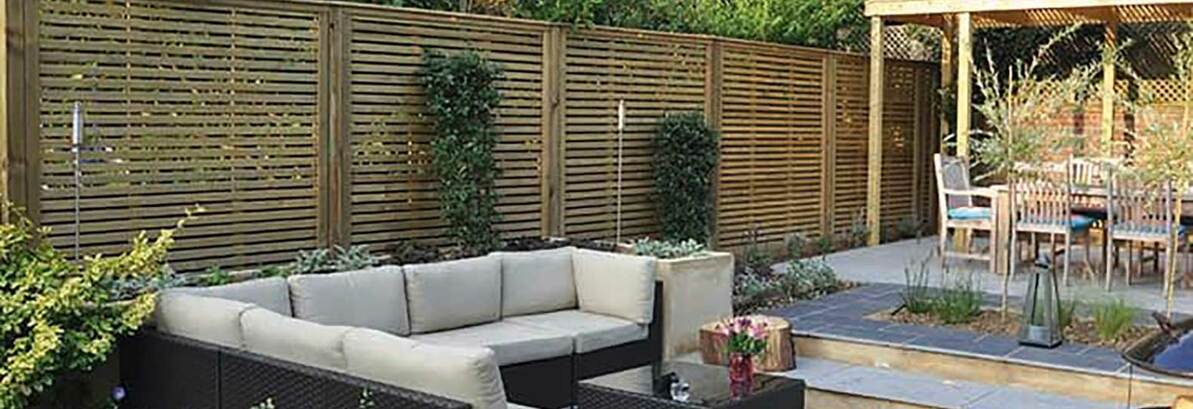 How to use Decorative Fence Panels in the Garden