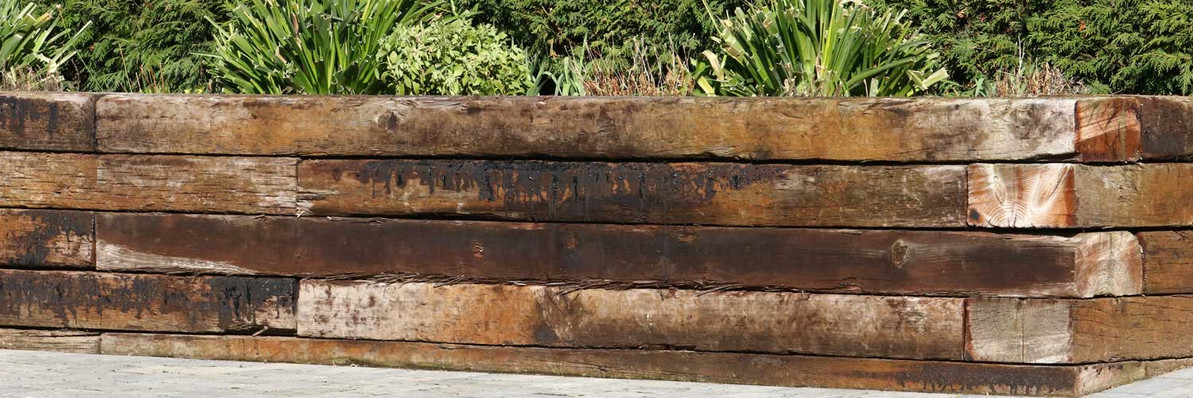 How to Use Railway Sleepers in Your Garden