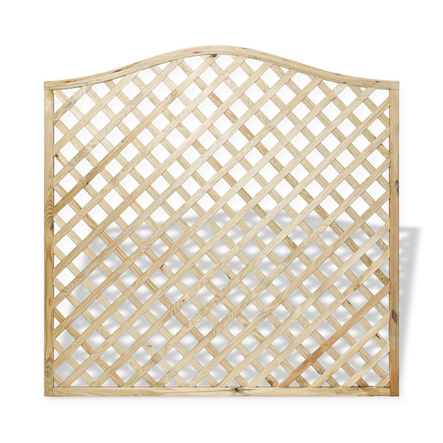 Full Lattice Panel - Front Shor