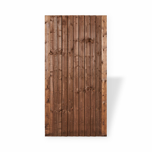 Closeboard Gate 1.75m(H) x 900mm(W) Brown