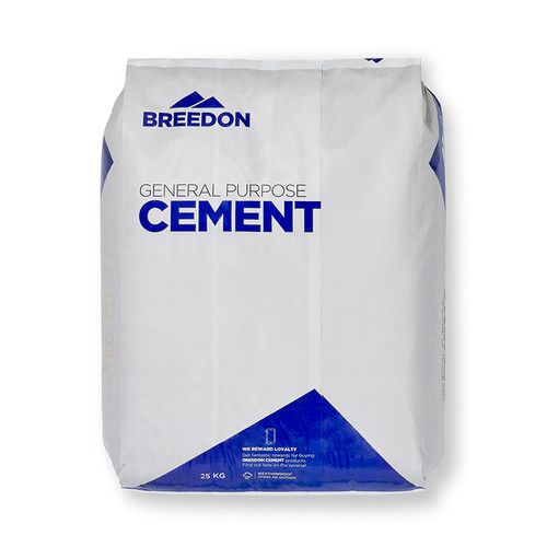 25KG Cement (Plastic Bag) - Front Shot