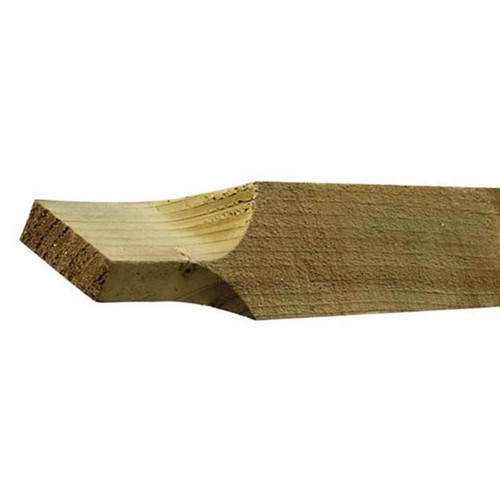 3m Triangular Arris Rail (Ended) (Natural)