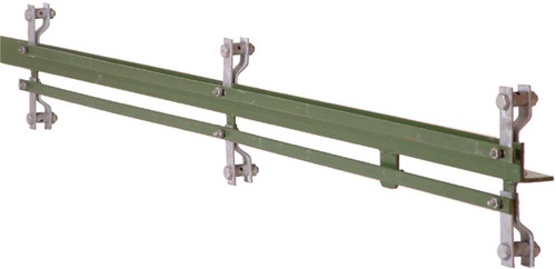 2.50m Green 50 X 50 X 6mm Angle Iron 2 Way For 1800mm Fence