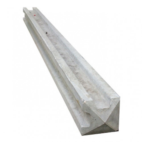 Concrete Slotted Corner Post 2.75m(H)