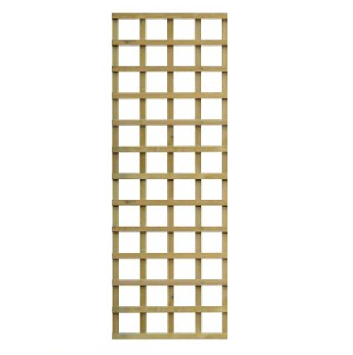 Traditional Square Trellis 1.83m(W) x 610mm(H) Pressure Treated (Natural)