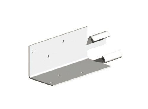 Mortice Adaptor for Concrete Posts (Galvanised)