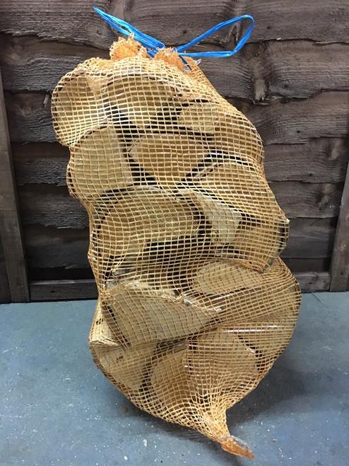 Netted Birch Logs - 30cm Long XXL Bags