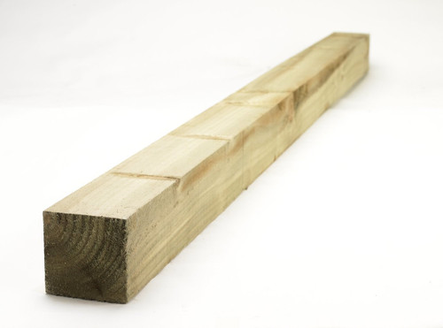 Timber Fence Post 3.0m(H) 100x100mm Pressure Treated (Natural)