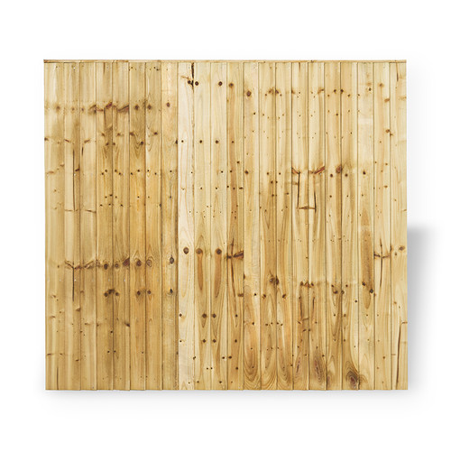 Closeboard Panel 1.83m(W) x 1.8m(H) Pressure Treated (Natural)