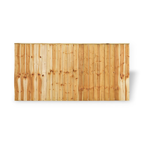 Closeboard Fence Panel 1.83m(W) x 0.9m(H) Pressure Treated (Natural)
