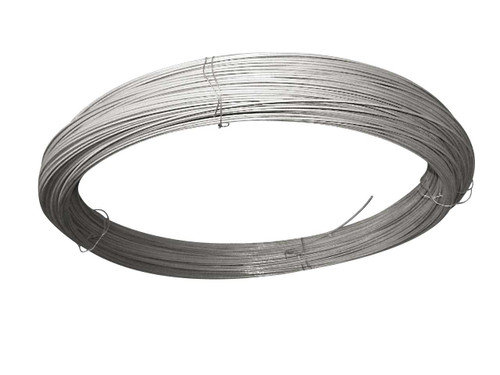 3.15mm galvanised Line Wire 5Kg Coil Approx 75M