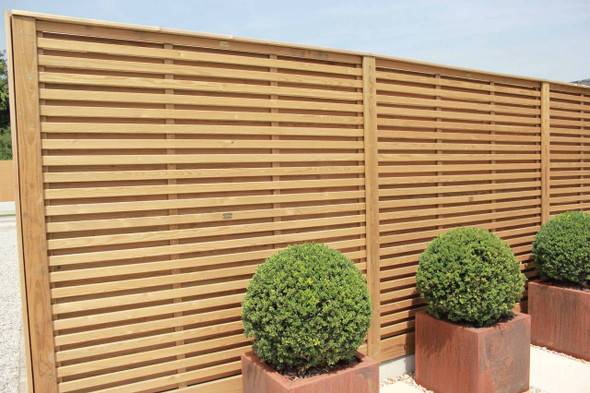 Venetian Hit & Miss Fence Panel (1830 x 907mm)