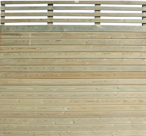 Canterbury Combi Fence Panel (1830 x 1830mm)