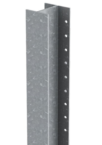 DuraPost Classic Intermediate Post (2400 x 54 x 48mm) - Plain Steel Finish