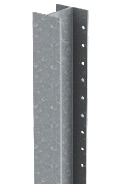 DuraPost Classic Intermediate Post (3000 x 54 x 48mm) - Plain Steel Finish