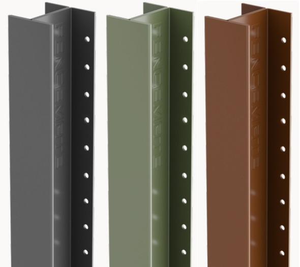 DuraPost Classic Intermediate Post (1800 x 54 x 48mm) - Powder Coated Finish