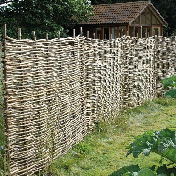Hazel Hurdle Garden Screening Fence Panel (1800mm Wide)