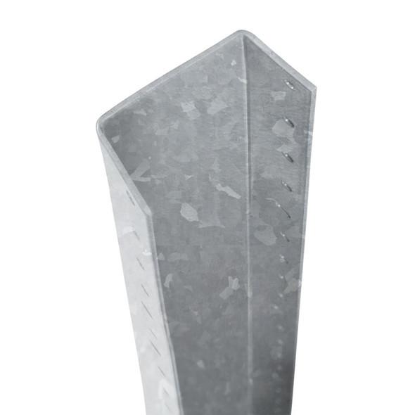 DuraPost U Channel (1800 x 30 x 55mm) - Plain Steel Finish