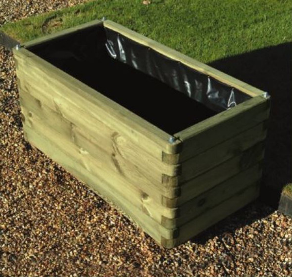 Elite Planter - Pressure Treated Green Timber