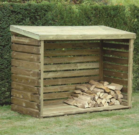 Log Store - Pressure Treated Green Timber